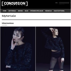 Our top and skirt in confashionmag.pl