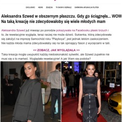 plotek.pl - Ola Szwed wearing 'Follow the Black' Collection by AM